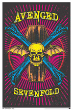 Avenged Sevenfold - Blacklight Blacklight Poster Print, 22x34