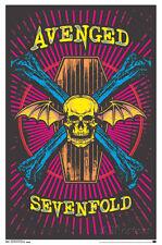 Avenged Sevenfold - Blacklight Blacklight Poster Print, 22x34