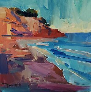 JOSE TRUJILLO Oil Painting IMPRESSIONISM SEASCAPE SEA OCEAN MODERN ORIGINAL ART