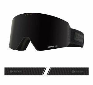 Dragon 2021 RVX Midnight Black w/ Midnight LumaLens + Bonus lens Snow Goggles