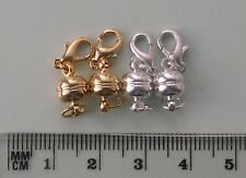 4 small round magnetic clasp converter sets - 2 GP and 2 SP