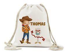 Personalised Drawstring Bag, Boys Girls School Shoe Toy 4 Bag Christmas Birthday