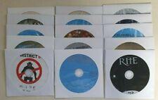Blu-ray disc sale - $1.75 each - plain white paper sleeve, no case, no artwork