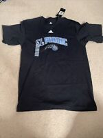 "Orlando Magic ""El Magic"" Black T Shirt Medium NBA Basketball Adidas NWT"