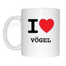 I love VÖGEL Tasse Kaffeetasse