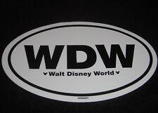 "WALT DISNEY WORLD 6"" CAR BUMPER STICKER DECAL"
