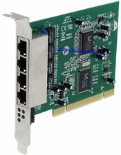 PCI 32bit Quad port Lan 4-Port 10Mbps/100Mbps Ethernet RJ45 Network Switch Card