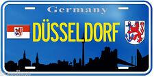 Dusseldorf Germany Aluminum Novelty Car Tag License Plate