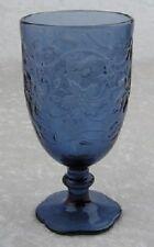 PRINCESS HOUSE FANTASIA SAPPHIRE BLUE ICED BEVERAGE GLASSES  SET OF 4