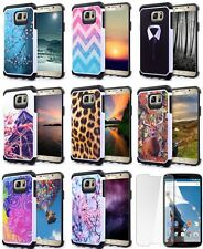 For Samsung Galaxy J3 Cell Phone Slim Shockproof Hybrid Armor Hard Case Cover