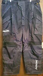 HMK Men's Snowboard Ski Snowmobile Ascent Pants Black Size 3XL
