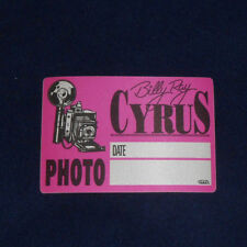 Billy Ray Cyrus Unused OTTO Backstage Pass
