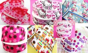 """Clearance ~ 10 yards Grosgrain 7/8"""" Ribbon/Supply/Craft/bow RY-Pick Design 11-20"""