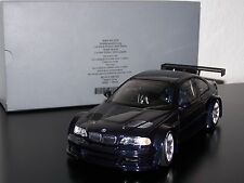 "1:18 BMW M3 GTR E46 Streetcar 2001 ""Dealer - BLACK"" OVP **limited 1st edition**"
