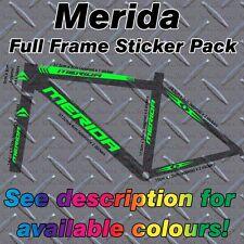 Merida Full Frame Sticker Kit, protettori, Custom MBK, bici, montagna, strada, ciclo