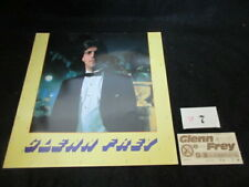 Glenn Frey 1982 Japan Tour Book with Ticket Eagles Concert Program