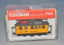 N Scale Fleischmann 7968 Track Cleaning Car w/ Extra Pads - LNIB