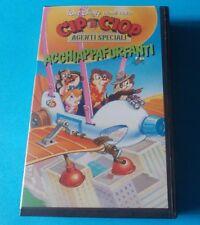 DISNEY: CIP & CIOP AGENTI SPECIALI ACCHIAPPAFURFANTI (VHS)