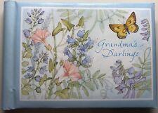 Vintage Hallmark Grandma's Darlings Portable Show & Tell Photo Album