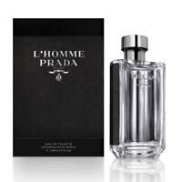 Prada L'homme Prada edt Eau de Toilette Spray for Men 100ml 3.4fl.oz NEU/OVP