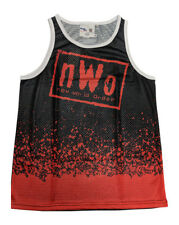 New World Order nWo Wolfpack Fanimation WWE Chalkline Tank Top