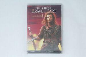 BRAVEHEART 2 DVD 20 CENTURY FOX 1995 MEL GIBSON [SV-044]