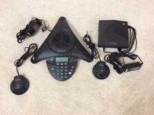 Polycom Soundstation 2w 19ghz Wireless Speakerphone Base 2 Mics 2201 67800 160