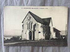cpa 74 Excenevex - L'Eglise