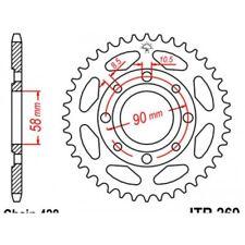 Couronne acier 47 dents sl125 k1/s1 1976-80 et xl125 s... Jt sprockets JTR269.47