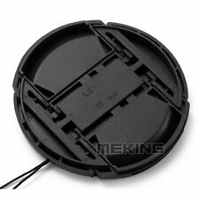 67mm with Logo Snap-on Lens Cap Cover with Cord Filter for Canon Camera