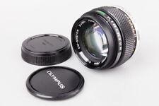 Olympus OM System Zuiko Auto S 50mm f/1.4 f1.4 Prime MF Lens, For OM Mount