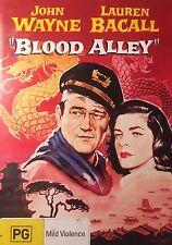 Blood Alley John Wayne Lauren Bacall Region 4 DVD VGC