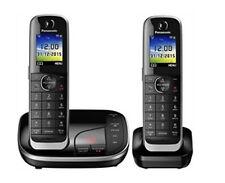 Panasonic KX-TGJ322GB Schnurlostelefon mit Anrufbeantworter - Schwarz