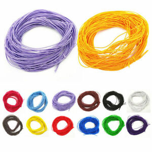 24M 1mm Round Elastic Thread Cord Rope Rubber Band Elastic Bands Stretch Line
