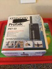 Kenwood ProTalk Pkt-23 Portable Uhf Business Two-Way Radio Walkie Talkie
