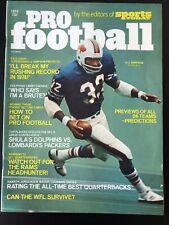 1974 Pro Football Magazine O.J. Simpson Buffalo Bills EX