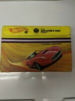 Hot Wheels 12 Car Case Collectors 5143 1968 Yellow Mattel Made in United States