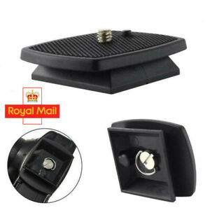 Tripod QR Quick Release Plate Screw Adapter Mount Head For DSLR SLR Camera UK