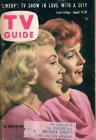 1958 TV Guide August 23 - Line-Up in San Francisco; Chet Huntley; Judi Meredith