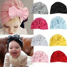 Baby Girl Hat With Bow Knot Infant Beanie Cap Accessories For Girls Kid Hats New