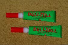 Beli-Zell Modellbauklebstoff - 2 Tuben - weiß, natur oder gemischt - je 14,5 g
