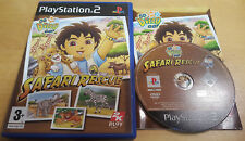 GO DIEGO GO SAFARI RESCUE for SONY PS2 PLAYSTATION 2 COMPLETE