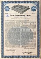 NEC Electronics > Japan Electric bond certificate Nippon Denki Kabushiki Kaisha