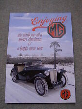 Enjoying MG (Dec 2011) Early MG marketing, Chassis electrics, ZT 260, MGF VVC