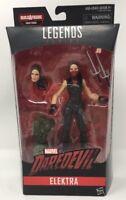 "Marvel Legends Series Daredevil's 6"" Elektra Figure (Man-Thing BAF)"