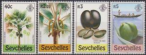 SET Seychelles 1980 Coco-De-Mer Sea Coconut 40c-5r MNH Stamps SG482/485