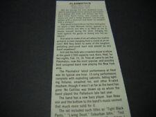 PLASMATICS at Heat in New York original 1980 music biz promo concert review