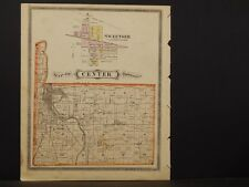 Indiana, Grant County Map, 1877, Township of Center, K2#95