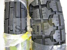 HONDA CB350 CB350F CB360 CB400F KZ400 XS400 GS400 DURO RIBBED FRONT & REAR TIRE