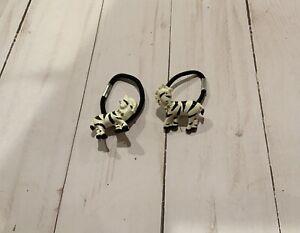 Gymboree Mod Zebra Pony O Elastic ~ Zebra  ~ RARE  ~NWOT~